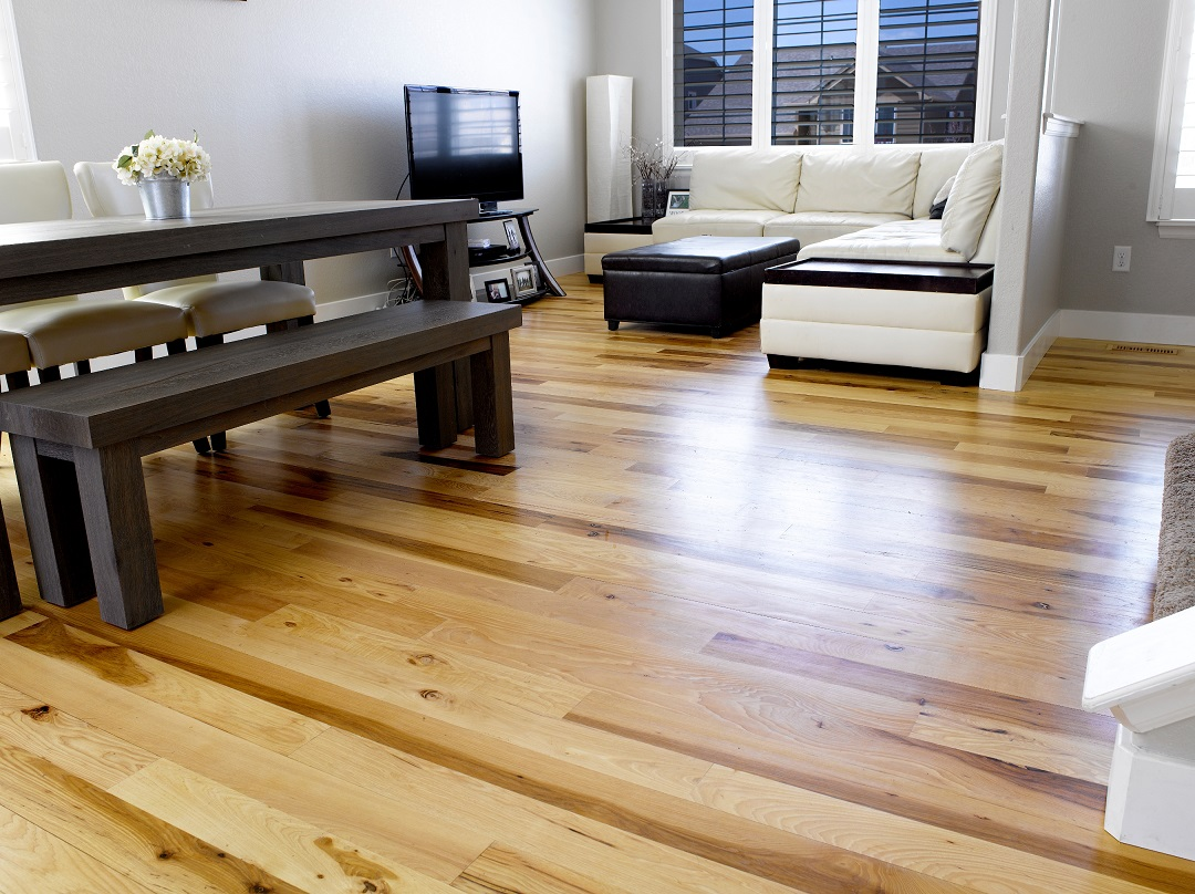 Hickory Site Finished Wood Floors