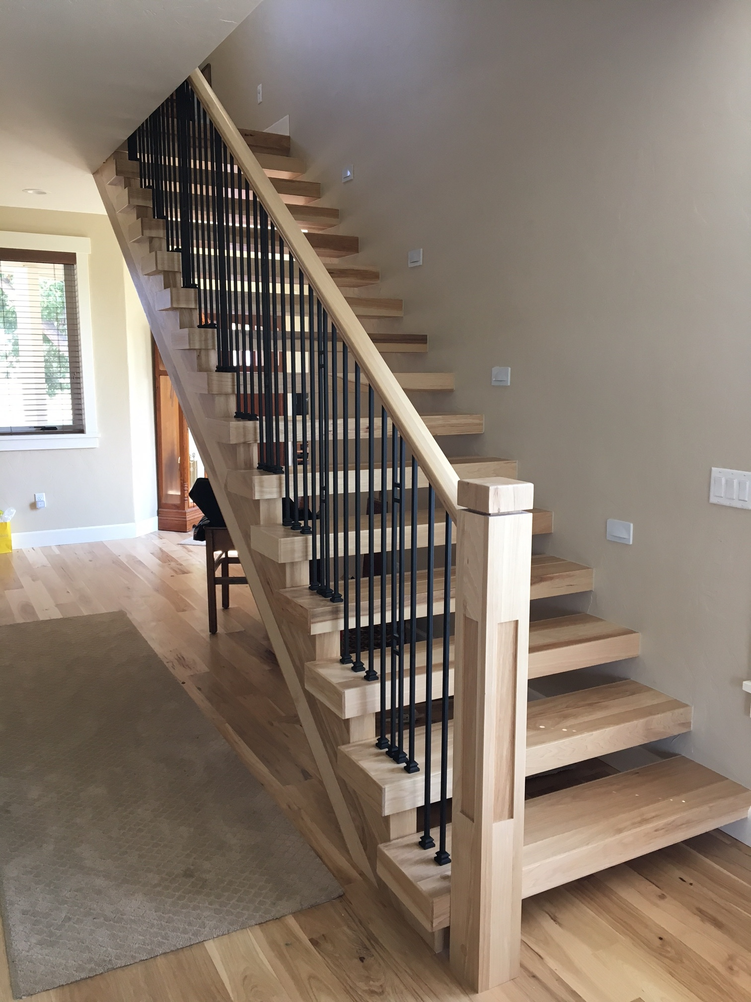 Hickory Treads Select Wood Floors